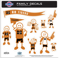 Missouri Tigers Family Decal Set Large
