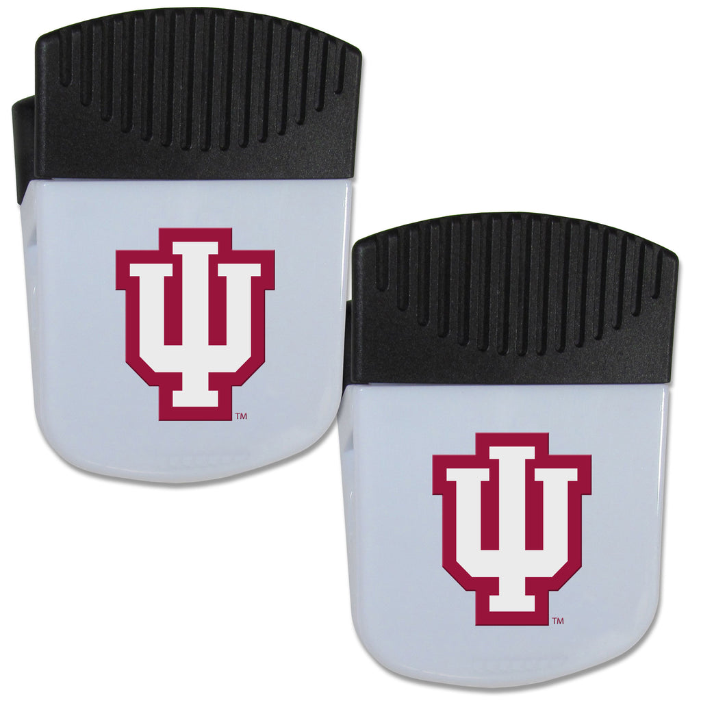 Indiana Hoosiers Chip Clip Magnet with Bottle Opener, 2 pack