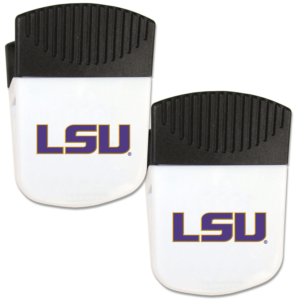 LSU Tigers Chip Clip Magnet with Bottle Opener, 2 pack