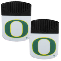 Oregon Ducks Chip Clip Magnet with Bottle Opener, 2 pack