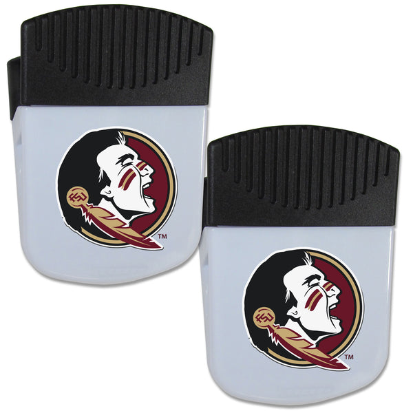 Florida St. Seminoles Chip Clip Magnet with Bottle Opener, 2 pack