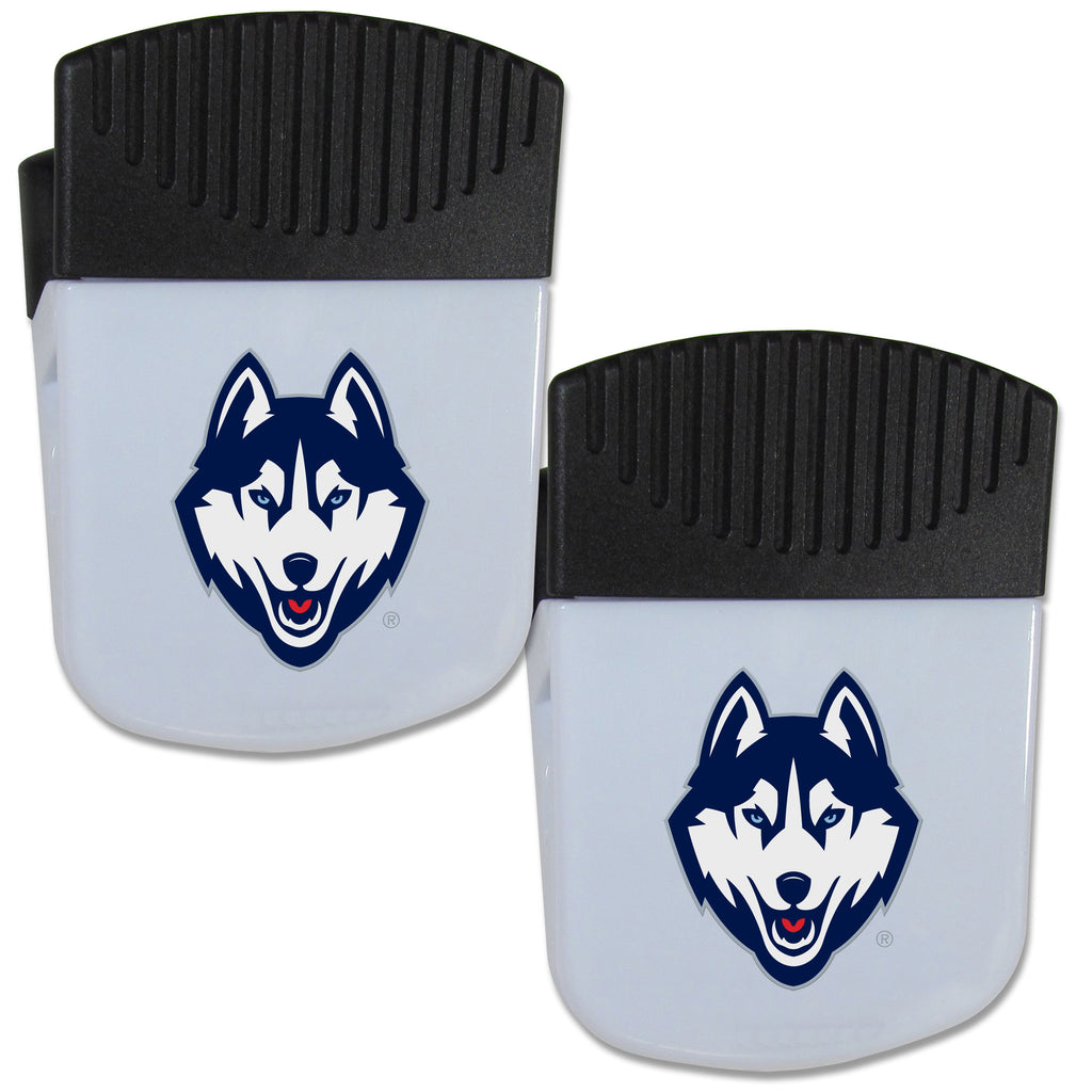 UCONN Huskies Chip Clip Magnet with Bottle Opener, 2 pack