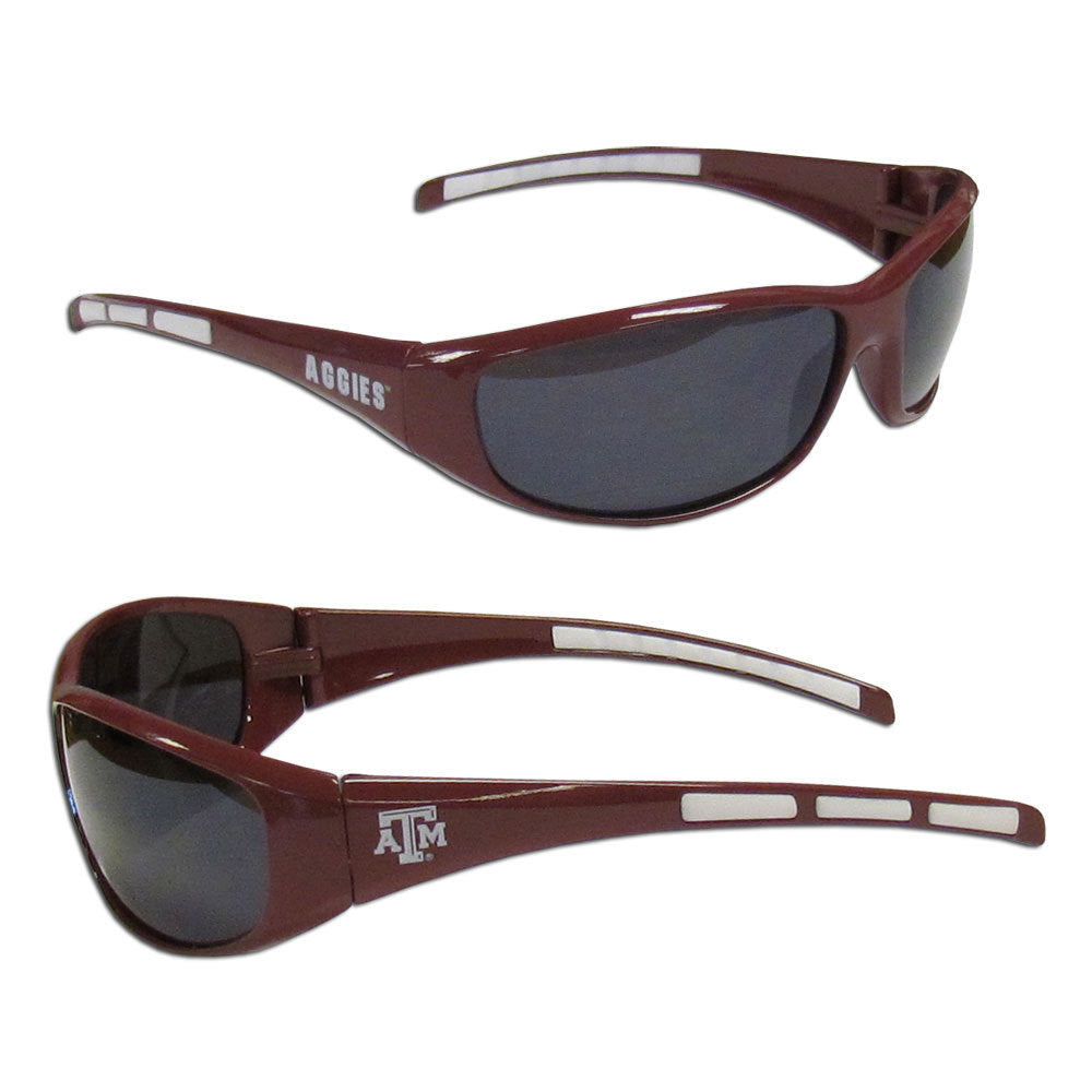Texas A & M Aggies Wrap Sunglasses