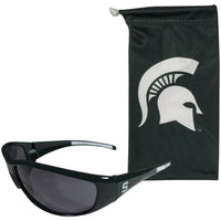 Michigan St. Spartans Sunglass and Bag Set