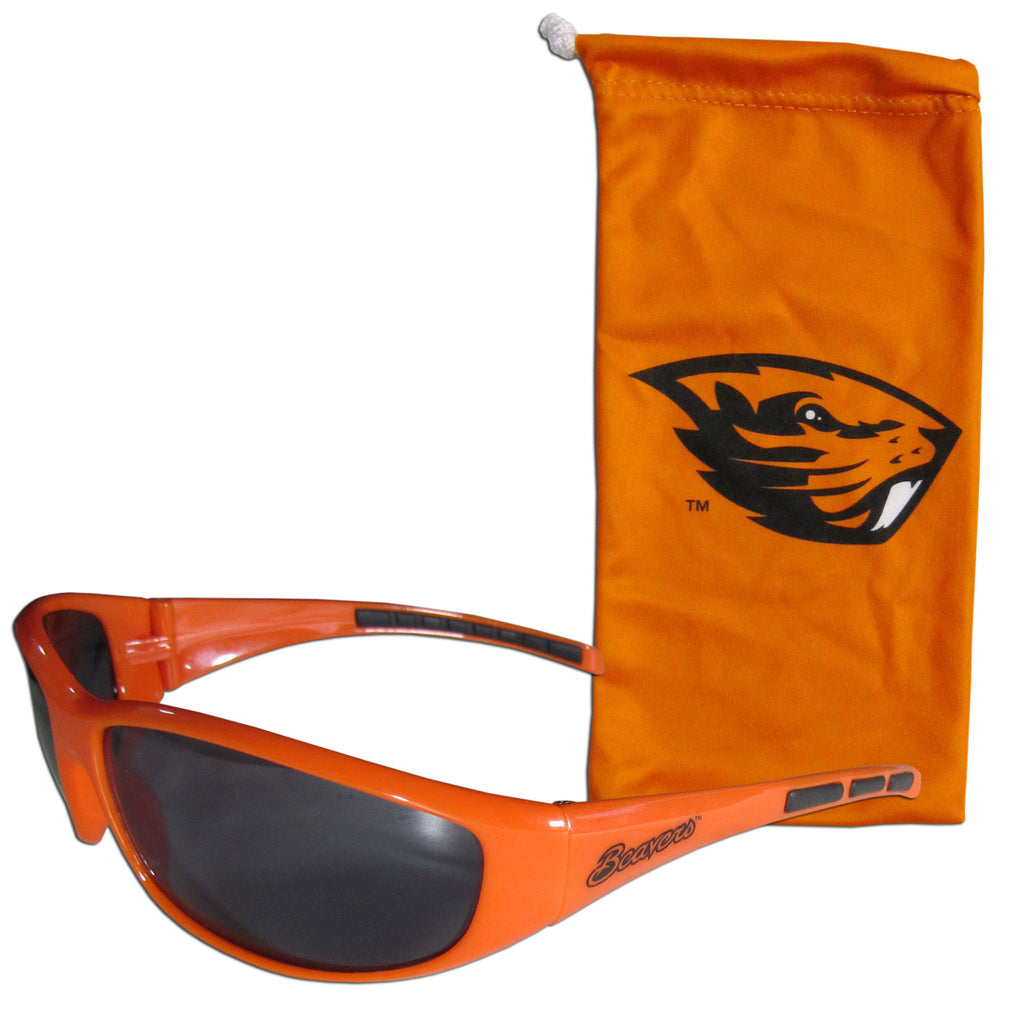 Oregon St. Beavers Sunglass and Bag Set