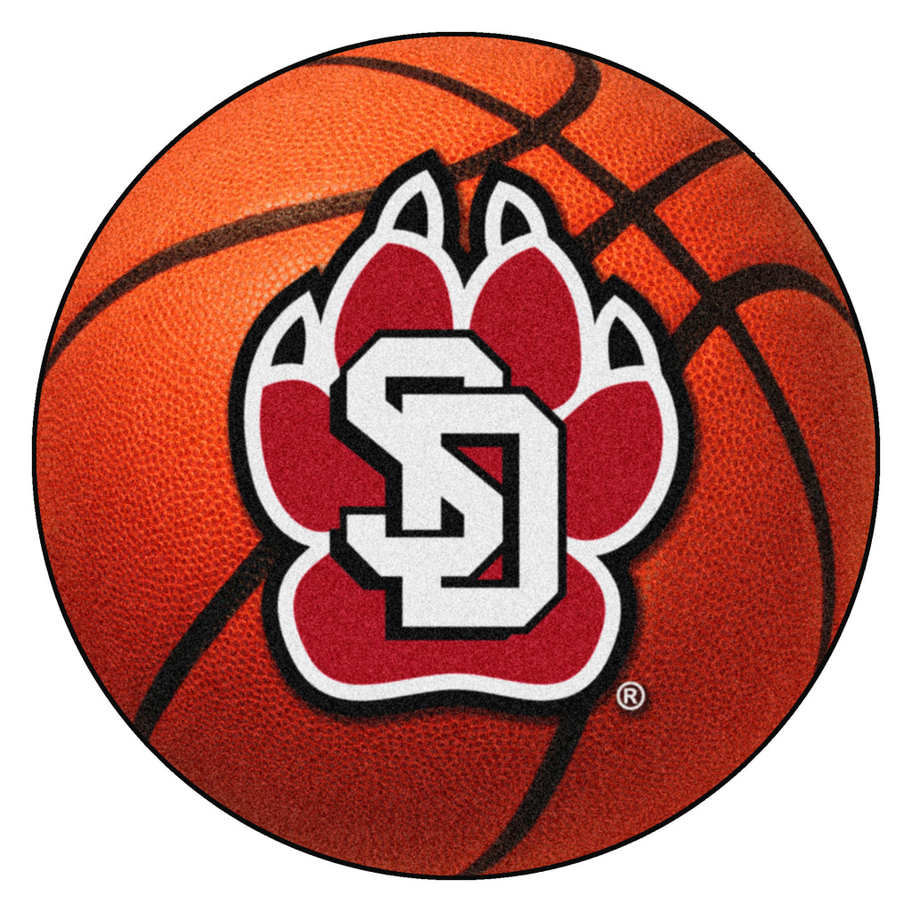 University of South Dakota Basketball Mat