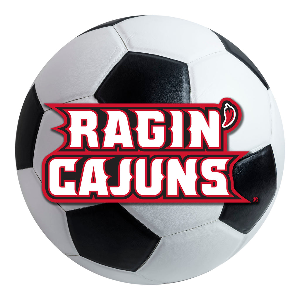 University of Louisiana-Lafayette Soccer Ball Mat
