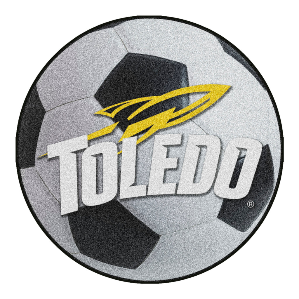 University of Toledo Soccer Ball Mat