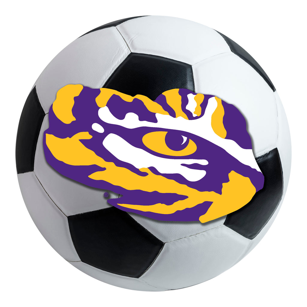 Louisiana State University Soccer Ball Mat