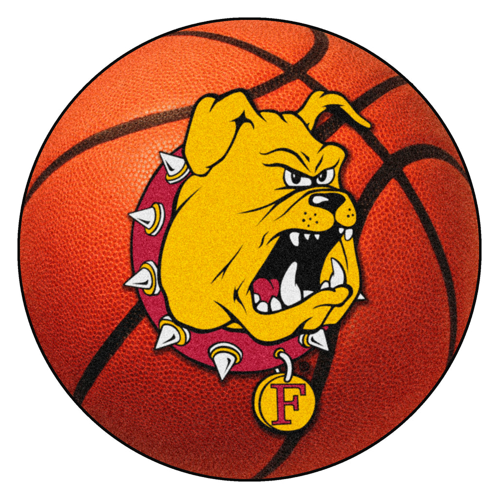 Ferris State University Basketball Mat