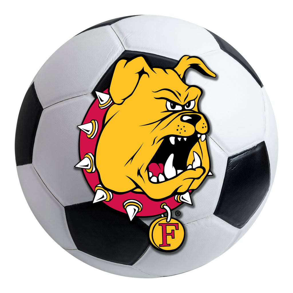 Ferris State University Soccer Ball Mat