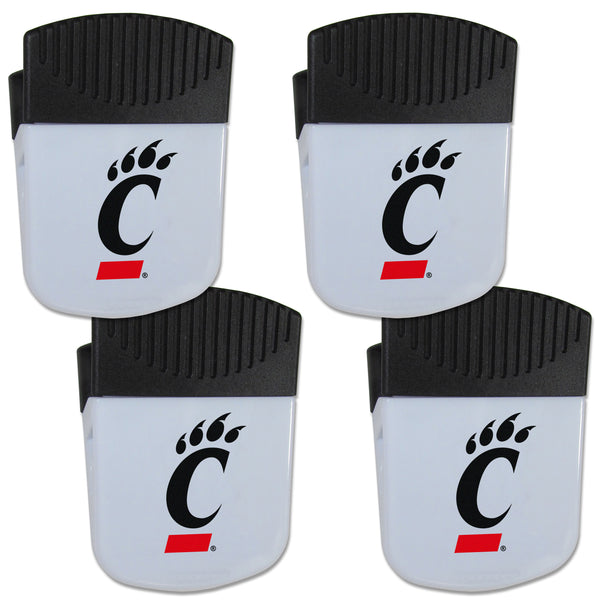 Cincinnati Bearcats Chip Clip Magnet with Bottle Opener, 4 pack