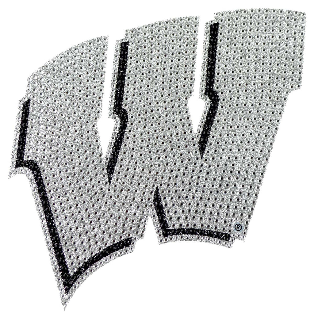 University of Wisconsin Bling Decal
