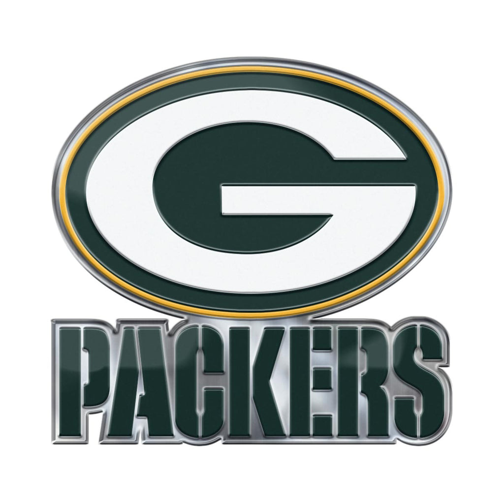 NFL - Green Bay Packers Embossed Color Emblem 2