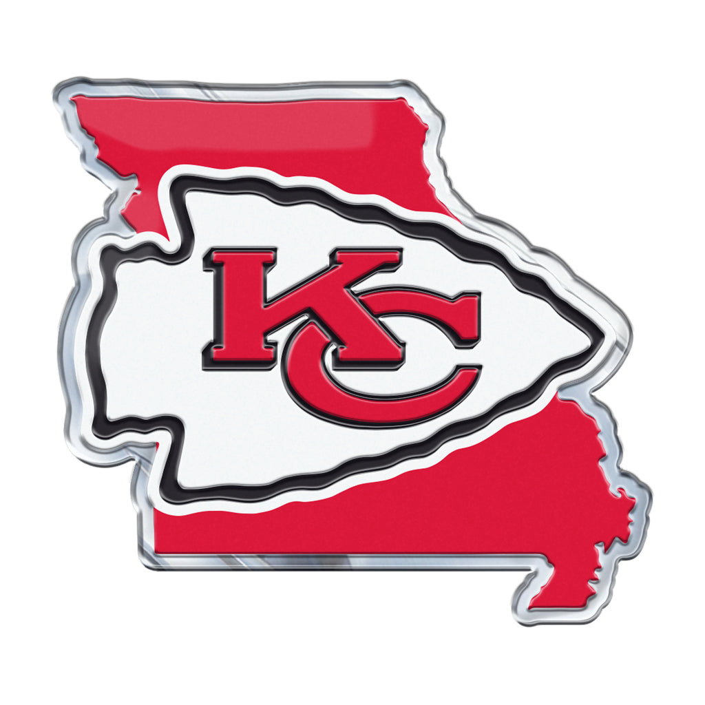 NFL - Kansas City Chiefs Embossed State Emblem