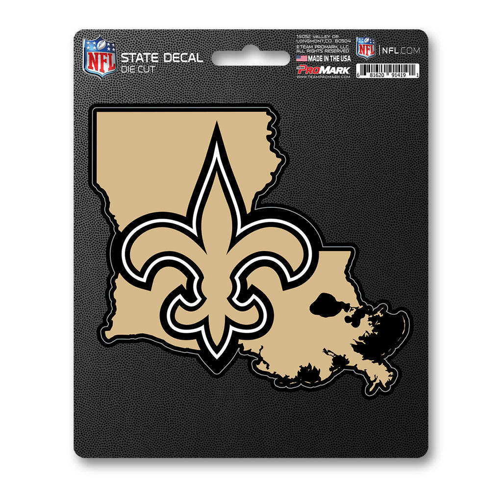 NFL - New Orleans Saints State Shape Decal