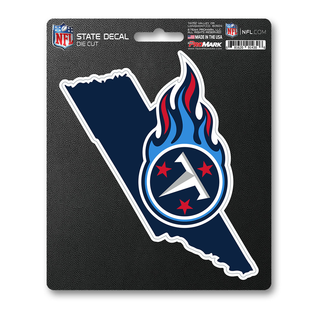 NFL - Tennessee Titans State Shape Decal