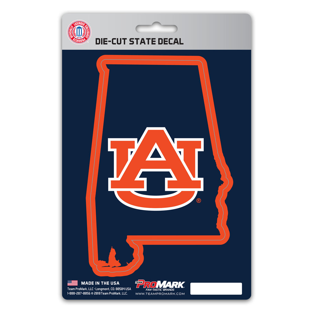 Auburn University State Shape Decal