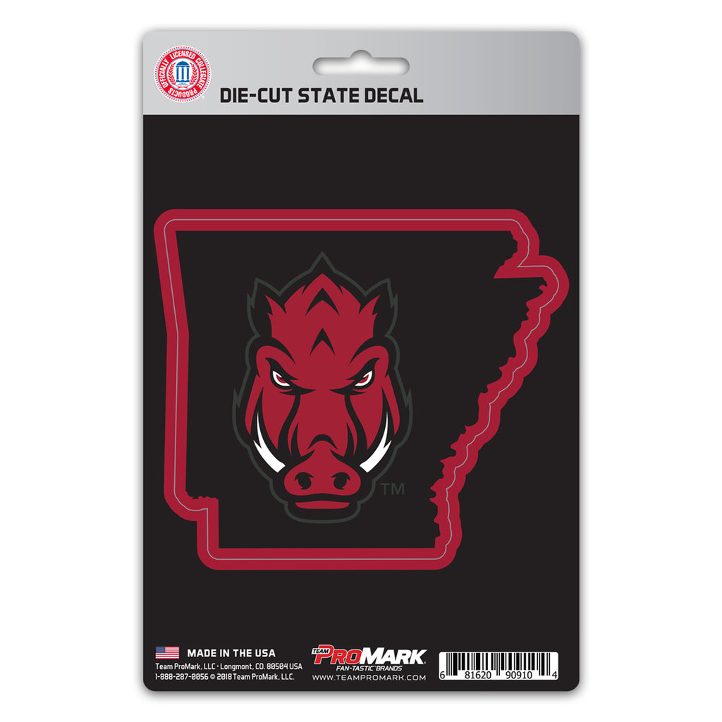 University of Arkansas State Shape Decal