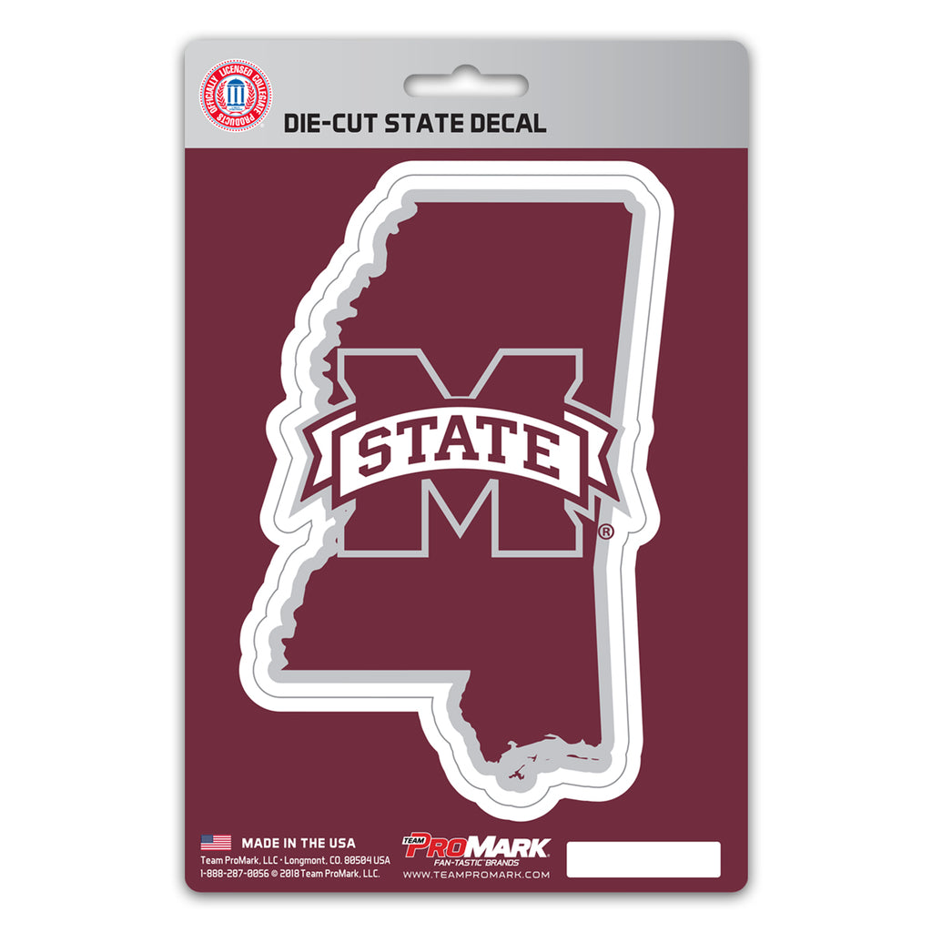 Mississippi State University State Shape Decal