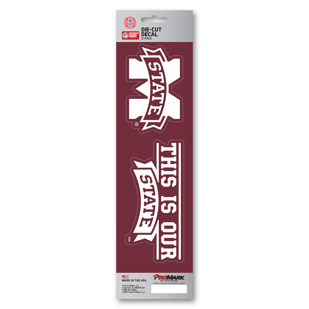 Mississippi State University Team Slogan Decal