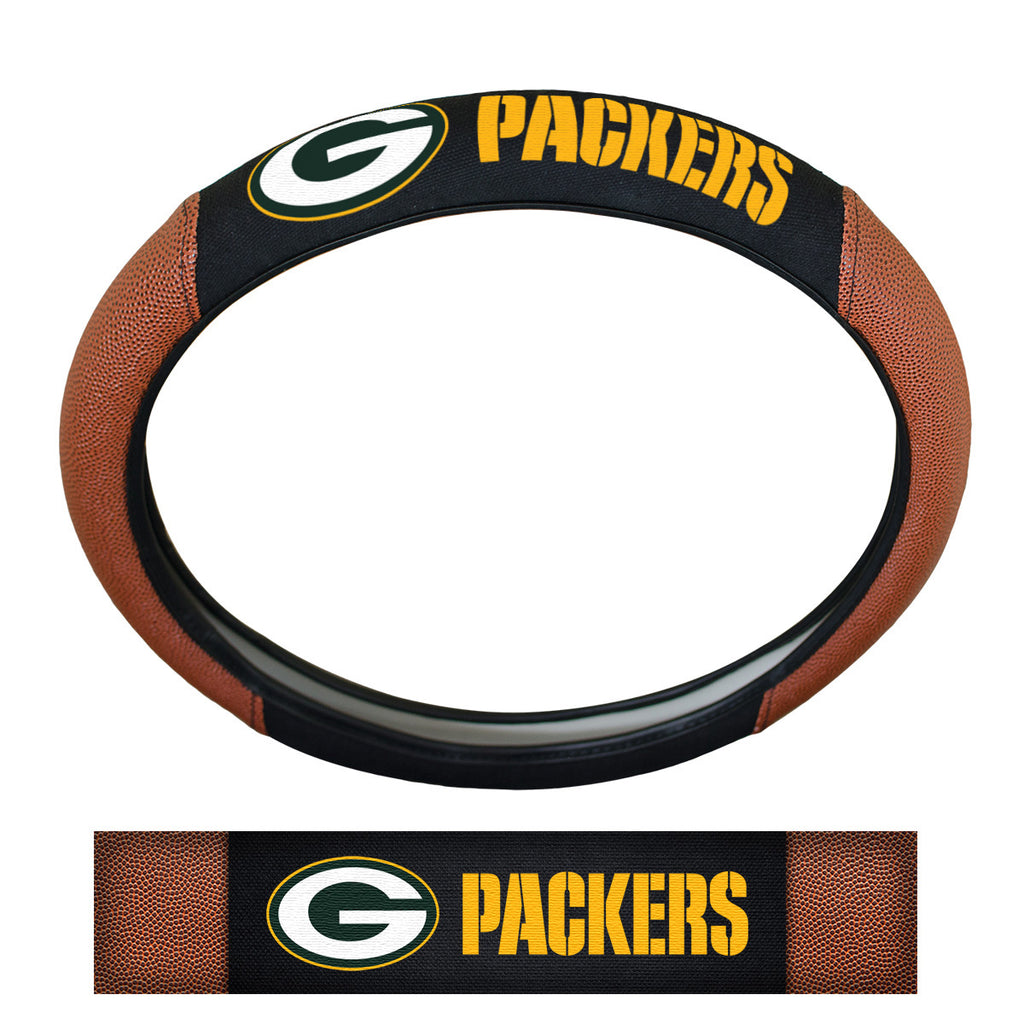 NFL - Green Bay Packers Sports Grip Steering Wheel Cover