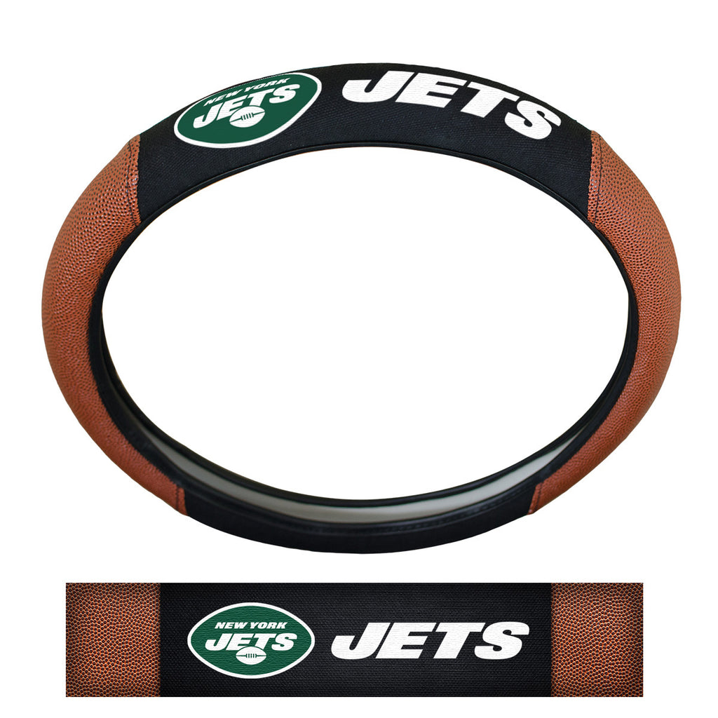 NFL - New York Jets Sports Grip Steering Wheel Cover