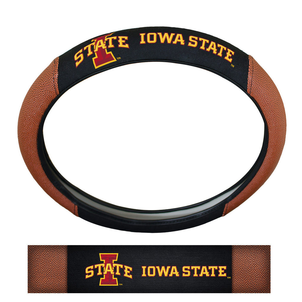 Iowa State University Sports Grip Steering Wheel Cover