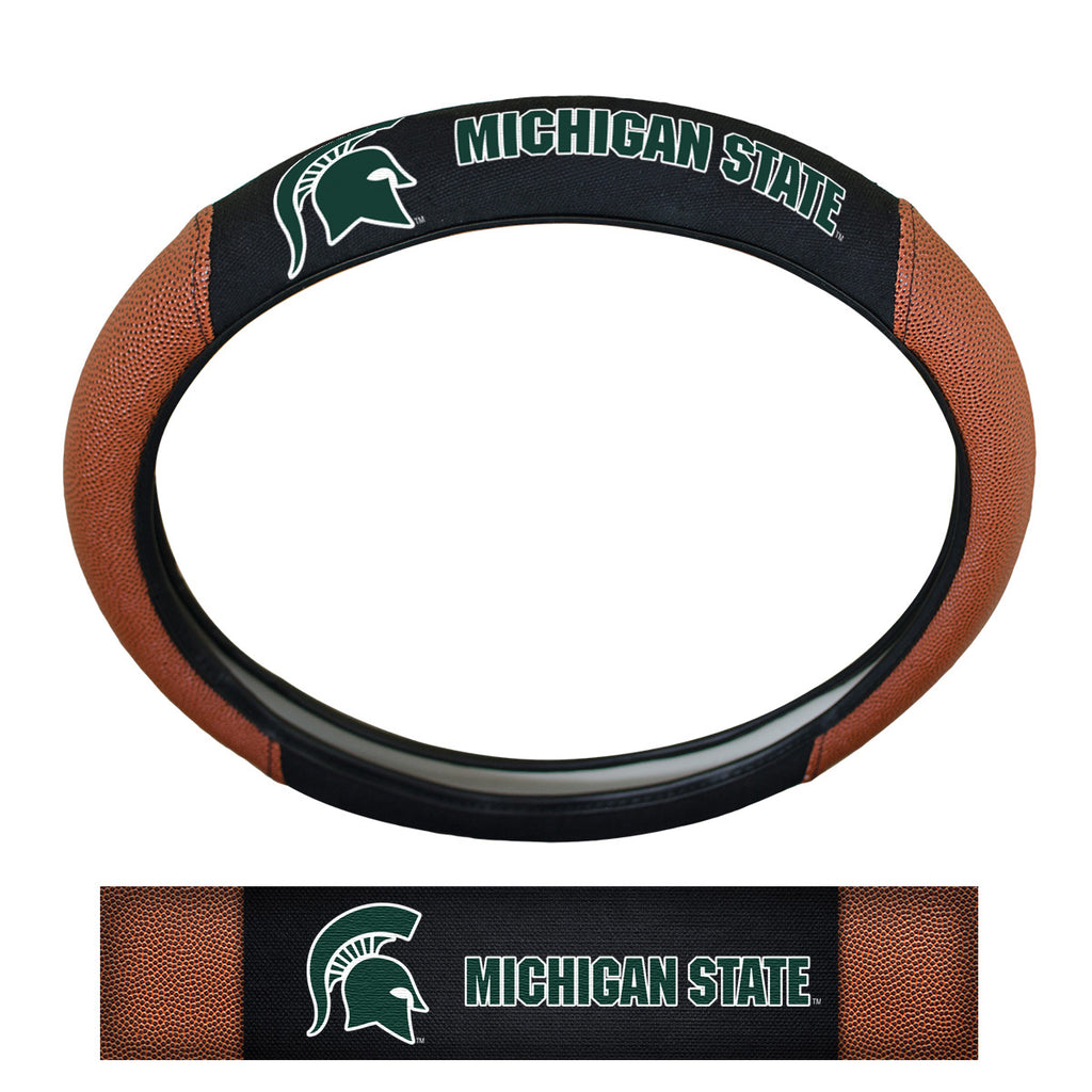 Michigan State University Sports Grip Steering Wheel Cover