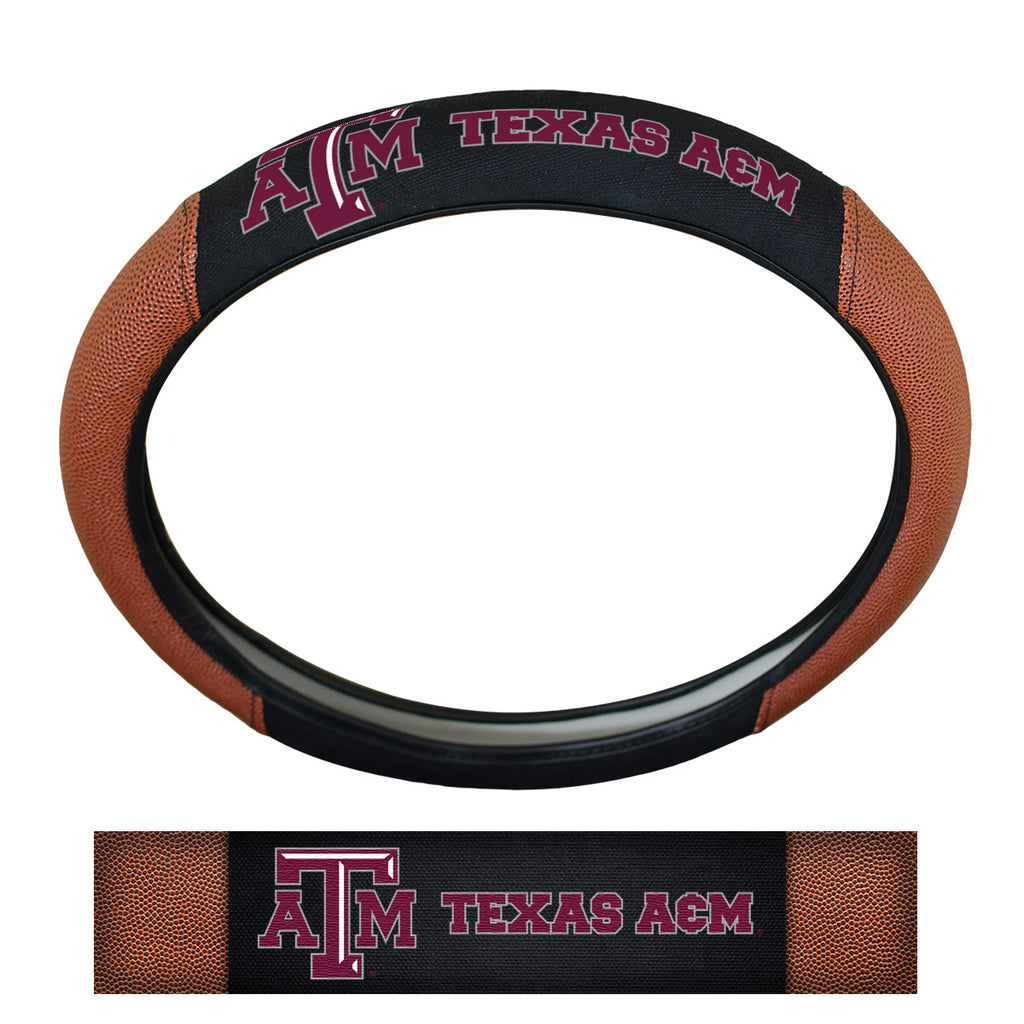 Texas A&M University Sports Grip Steering Wheel Cover