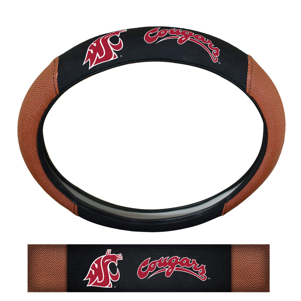 Washington State University Sports Grip Steering Wheel Cover