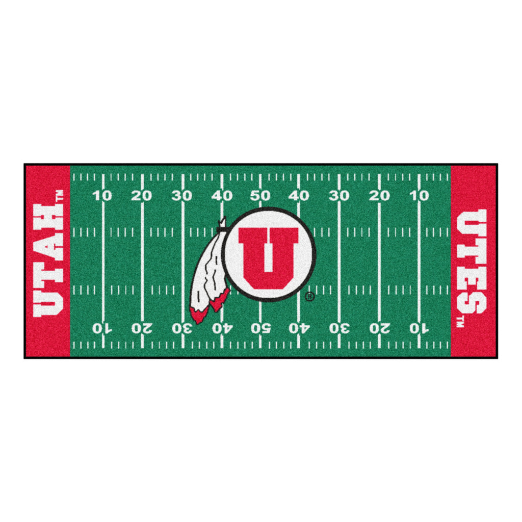 University of Utah Football Field Runner