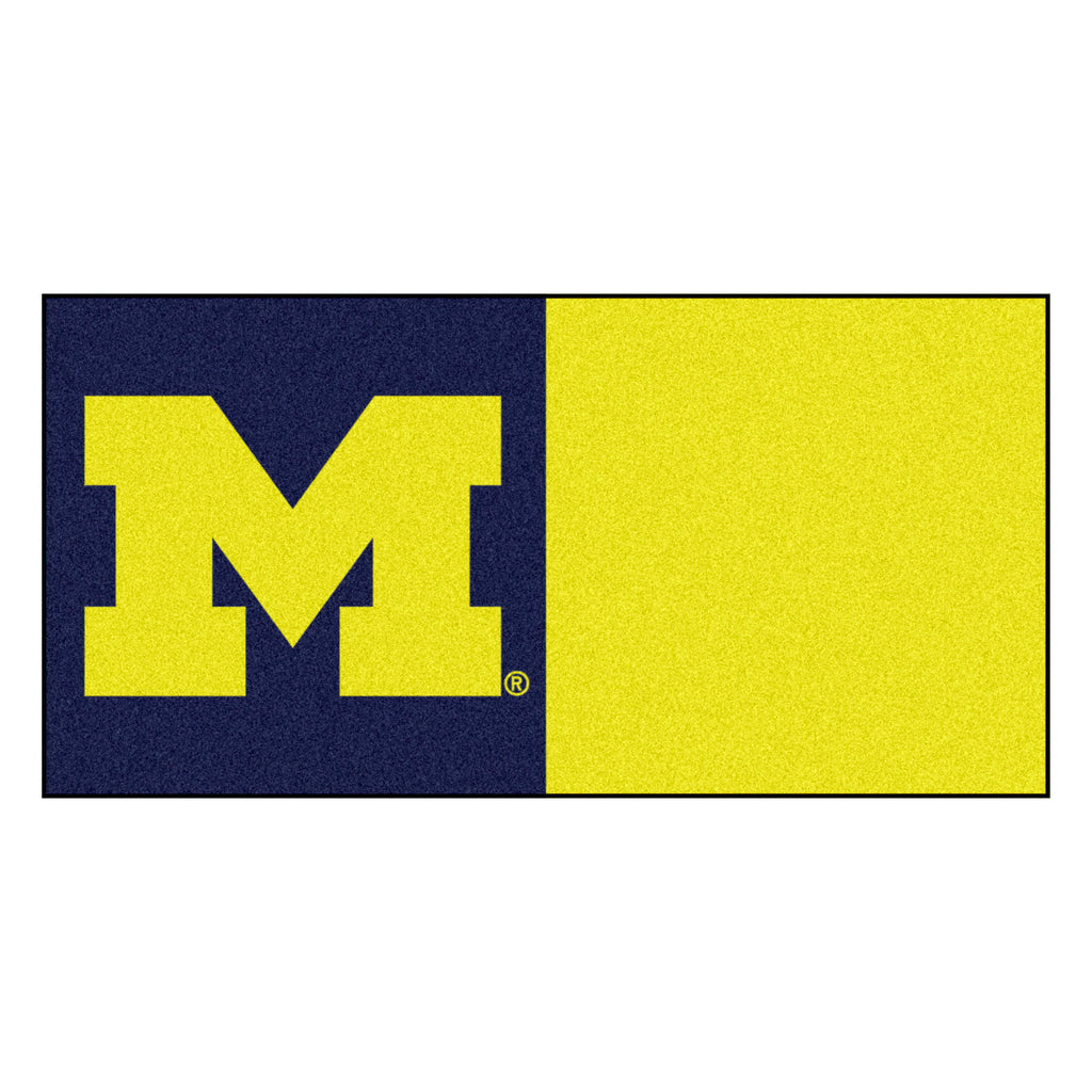 University of Michigan Team Carpet Tiles
