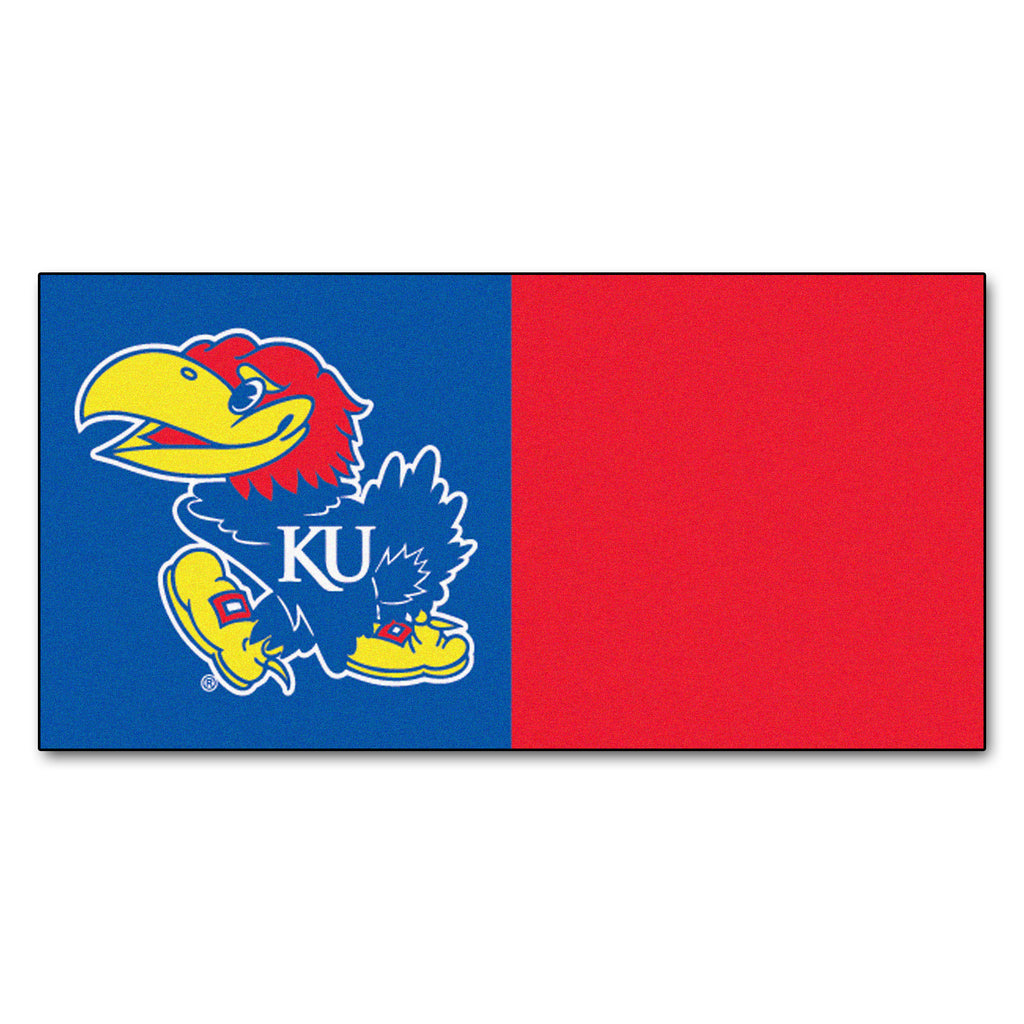 University of Kansas Team Carpet Tiles