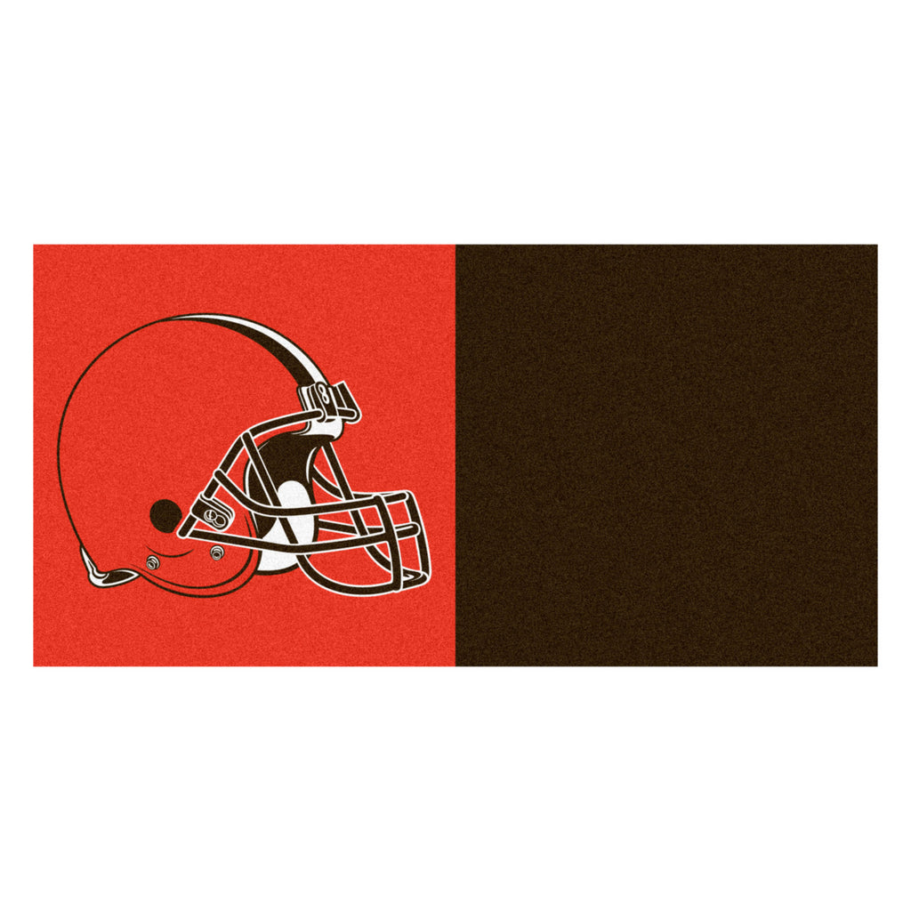NFL - Cleveland Browns Team Carpet Tiles