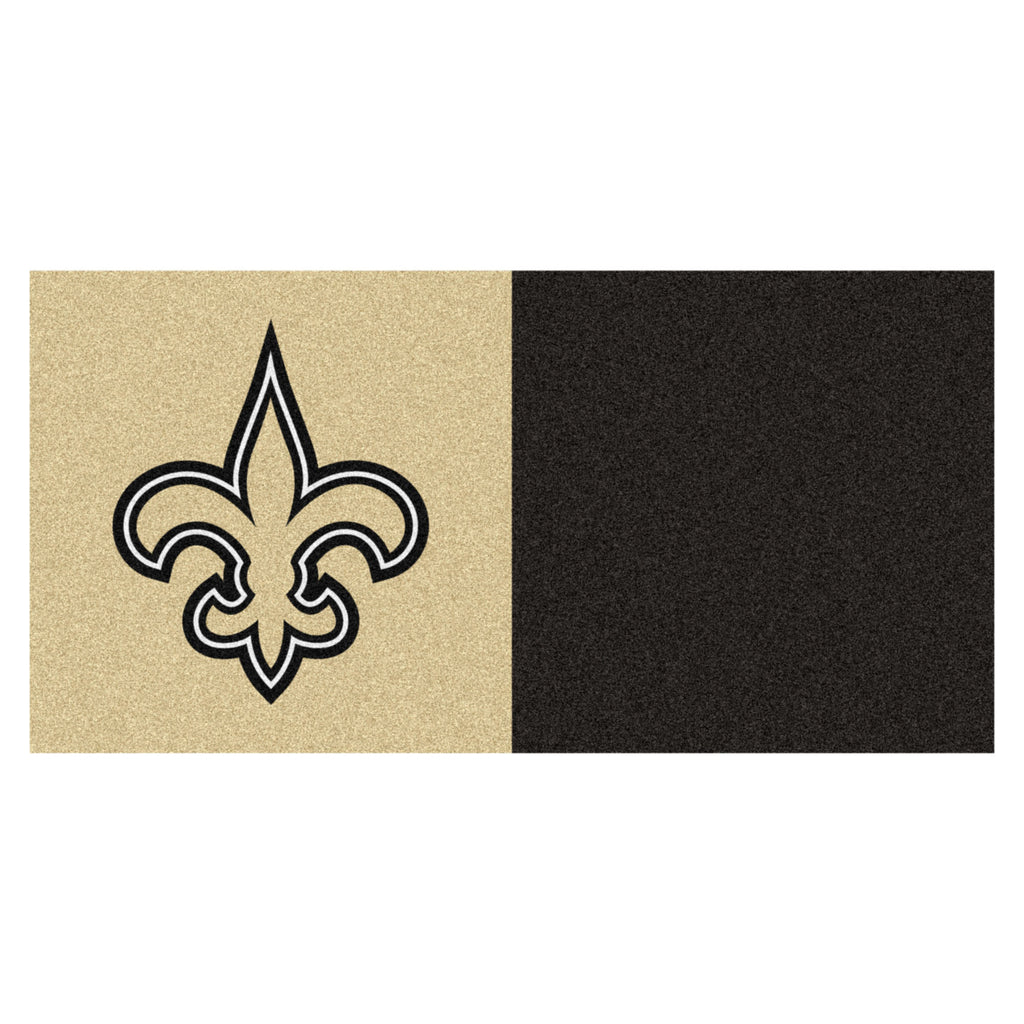 NFL - New Orleans Saints Team Carpet Tiles