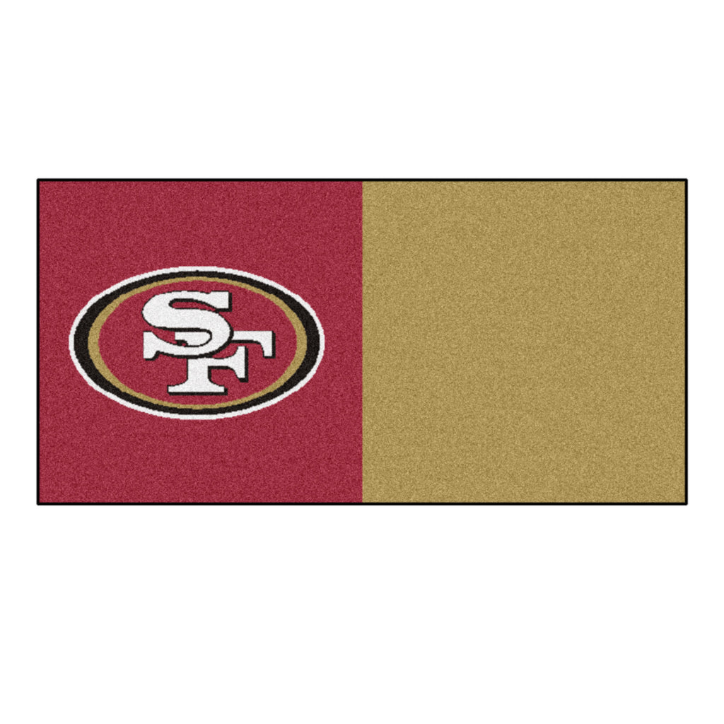 NFL - San Francisco 49ers Team Carpet Tiles