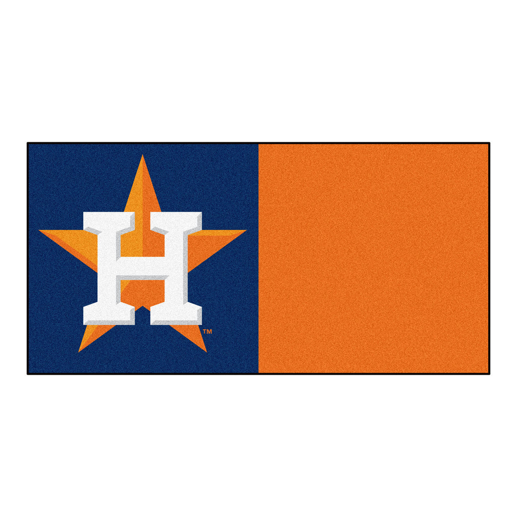 MLB - Houston Astros Team Carpet Tiles
