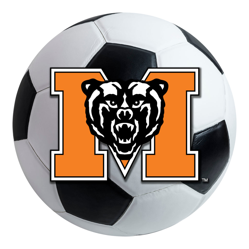 Mercer University Soccer Ball Mat