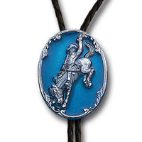 Bronco Busting Large Bolo Tie