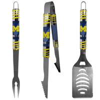 Michigan Wolverines 3 pc Tailgater BBQ Set