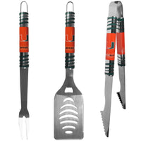 Miami Hurricanes 3 pc Tailgater BBQ Set