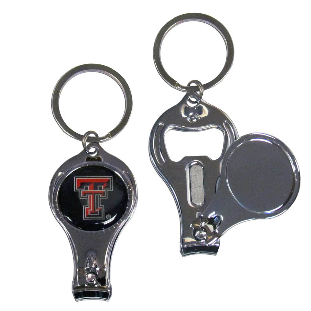 Texas Tech Raiders Nail Care/Bottle Opener Key Chain