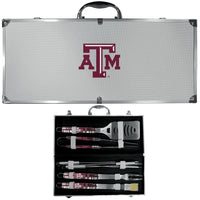 Texas A & M Aggies 8 pc Tailgater BBQ Set