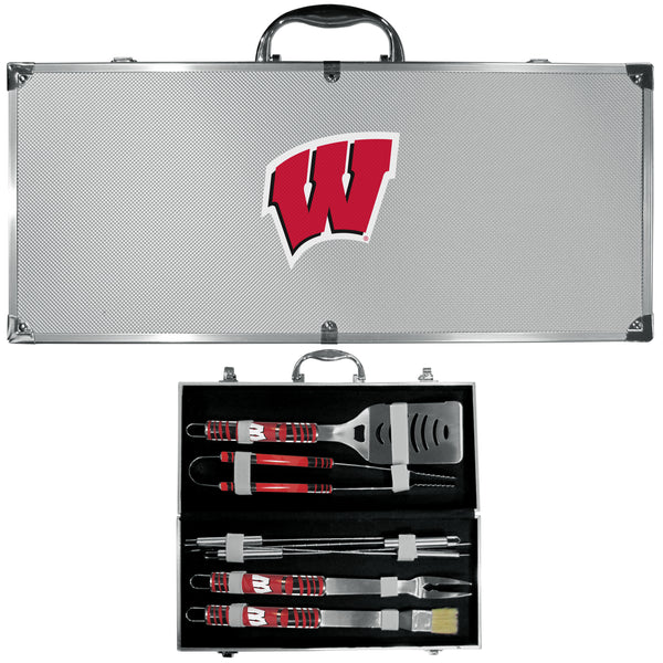 Wisconsin Badgers 8 pc Tailgater BBQ Set