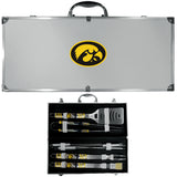 Iowa Hawkeyes 8 pc Tailgater BBQ Set