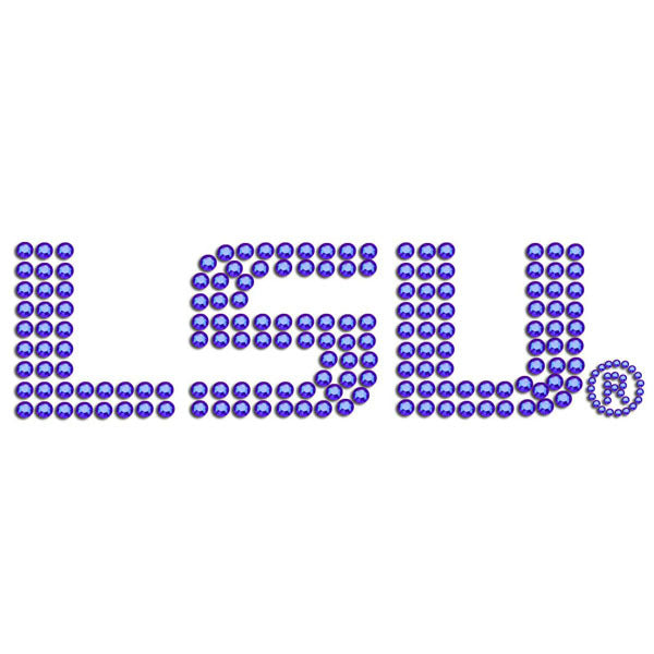 LSU Tigers Bling Decal