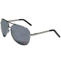 Virginia Tech Hokies Aviator Sunglasses