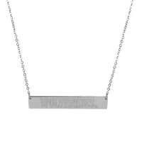 Michigan Wolverines Bar Necklace