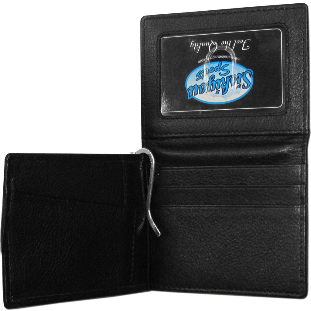 Texas Longhorns Leather Bill Clip Wallet